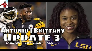 Brittany Taylor Cheated On Ex Boyfriend With Antonio Brown + Leaks Text Messages | Update 3 | NFL