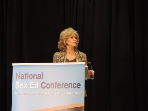 "Jane Fonda on ""Being a Teen"" at the 2014 National Sex Ed Conference"
