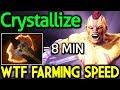 Crystallize Dota 2 [Anti Mage] 8min = Battle Fury | WTF Farming Speed MP3