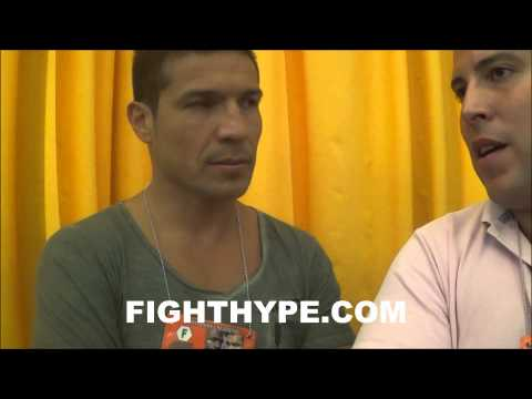 SERGIO MARTINEZ TALKS MAYWEATHER VS MAIDANA 2 THE PUBLIC WILL ENJOY A VERY GOOD FIGHT