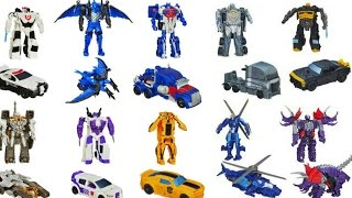 TRANSFORMERS ONE STEP CHANGERS TOYS OPTIMUS PRIME BUMBLEBEE GRIMLOCK AUTOBOT DRIFT COLLECTION