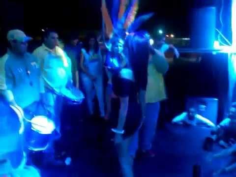 BAILE DE LA BOTELLITA,SAMBA SHOW RITMO Y SABOR Y SUS GAROTAS (Arena Plaza Barqui,chicas De UNEXPO)