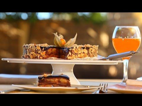 Choumicha : Gâteau de crêpes à la banane شميشة : حلوى بفطائر الكريب، الموز والشكلاطة