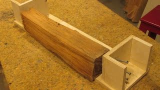 Build a Saw Mill Sled For A Band Saw