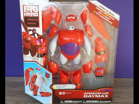 Jouet les Nouveaux Héros (Big Hero 6) figurine Armor-up Baymax streaming vf
