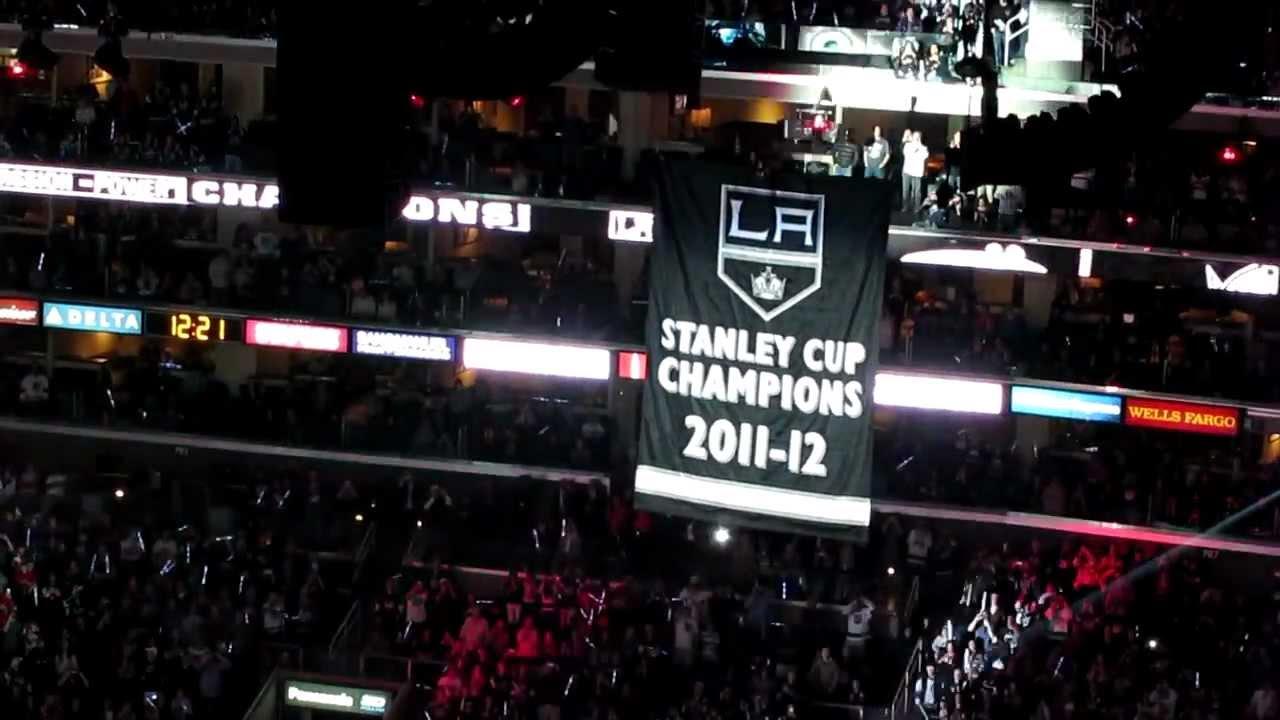 la Kings Stanley Cup Banner
