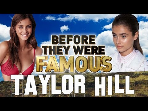 TAYLOR HILL - Before They Were Famous - VICTORIA'S SECRET MODEL