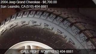 2004 Jeep Grand Cherokee Limited 4WD 4dr SUV for sale in San