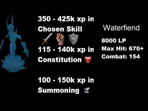 [Melee Guide] – Waterfiends [500 - 650k xp/hr] – [2014] [Runescape 3] [EOC]
