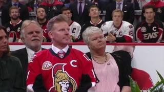Alfie Jersey Retirement - Full Ceremony