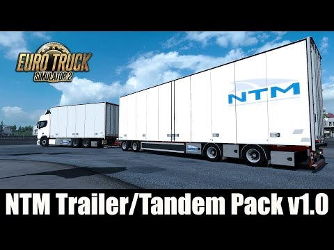 ✅ ETS2 - NTM Trailer/Tandem Pack v1.0 #1
