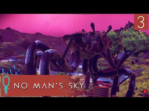 No Man's Sky Gameplay - Part 3 - Arachnocrab - Let's Play - Explore, Fight, Survive