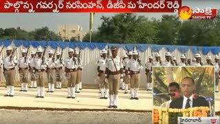 Police Commemoration Day Event in Goshamahal Stadium || పోలీసు సంస్మరణ దినోత్సవం