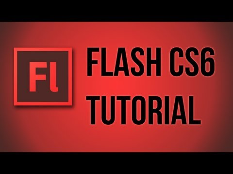 Flash CS6 Basic Animation Story Full Rotation and Multiple Layers