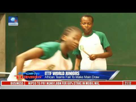 Sports Tonight: Abelgium Defeat Nigeria At ITTF World Juniors