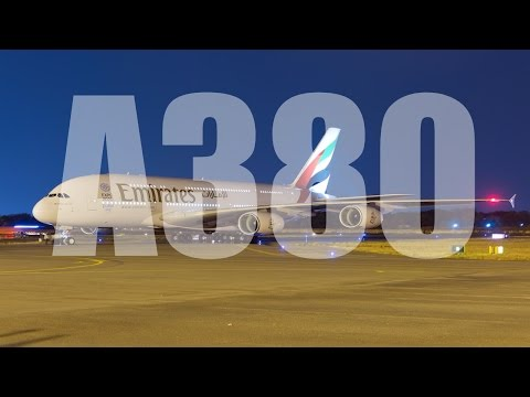 Emirates A380 Toronto to Dubai Flight Economy HD