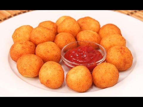 Bolitas de Patata y Queso | Bolitas de Papa fáciles y rápidas! thumbnail