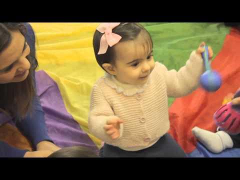 Isabel no Gymboree de Carnaxide