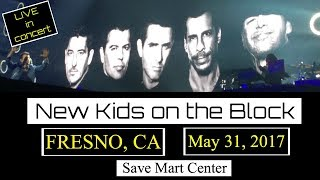 NKOTB LIVE in concert! Fresno, CA May 31, 2017 FRONT ROW SEATS (M by Mickie)