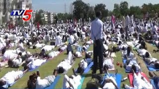 International Yoga Day Grand Celebrations In Serilingampally | Hyderabad