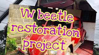 VW beetle fully restoration project 100% completed very important
