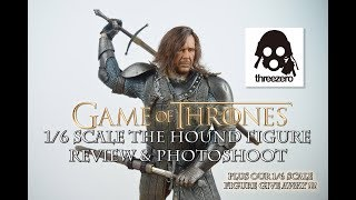 Threezero 1/6 Scale Sandor Clegane The Hound Review and Photoshoot