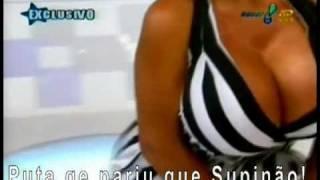 Sheyla Hershey VS Mulher Melancia ( sensacional ! ) parte 2 Super Pop 20/10/2008