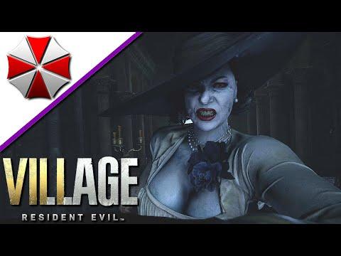 Resident Evil 8 Village 14 - Lady Dimitrescu Boss - Let's Play Deutsch