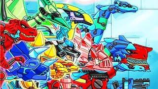 Dino Robot Dino Corps Full (10 Robots) | Eftsei Gaming
