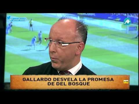 François Gallardo desvela la promesa secreta de Vicente del Bosque