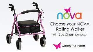 Walkers: How to Choose a Rollator Walker
