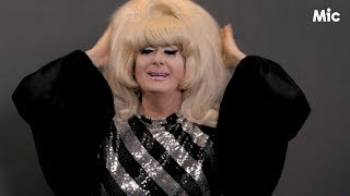 """Lady Bunny breaks down the difference between """"Drag Race"""" and the world of drag"""