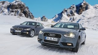 Audi Quattro vs BMW xDrive in Snow ❄️