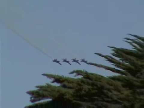 Blue Angels F-18 Navy Fleet Week San Francisco