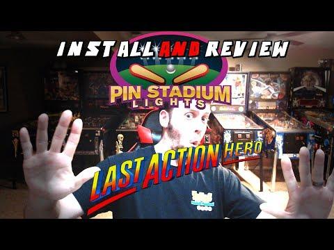 Pin Stadium kit on Last Action Hero Pinball Machine - Install and Review