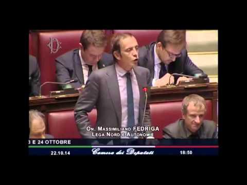 Massimiliano Fedriga - Intervento alla Camera - Renzi
