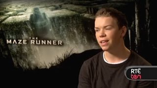 Will Poulter Talks The Maze Runner