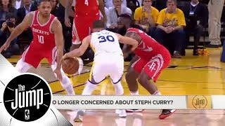 Were Steph Curry's comments a little too spicy during Game 3 against Rockets? | The Jump | ESPN