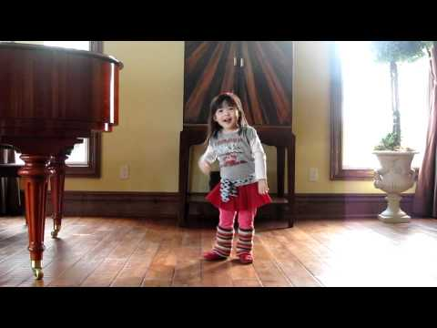 Madi Dancing & Singing 1234 Feist Sesame Street Version