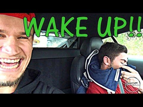 WAKE UP!!! Loud R8 Rev Wakes Up My Mate!