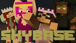 Minecraft Minigame - Skybase PVP! Ft. MunchingBrotato, Lilshortysgs, and Excl