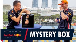 Alex Albon and Max Verstappen's Mystery Box Challenge