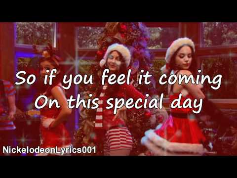 Victorious Cast Ft. Victoria Justice - It's Not Christmas Without You (+ Lyrics) video