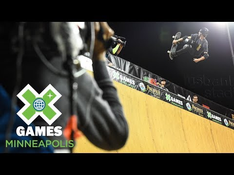 Mitchie Brusco wins Skateboard Vert bronze | X Games Minneapolis 2018