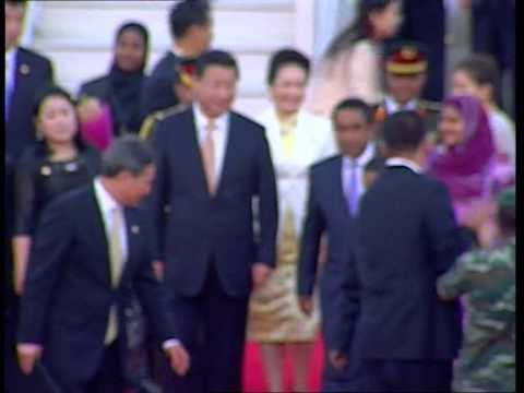 CHINA PRESIDENT XI JIMPING'S OFFICIAL VISIT TO MALDIVES