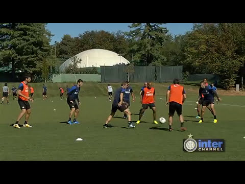 ALLENAMENTO INTER REAL AUDIO 19 09 2013