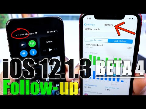 iOS 12.1.3 Beta 4 Follow-Up | Battery, Performance & Expected Release Date