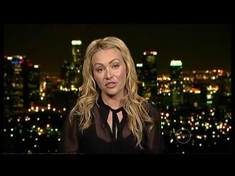 Portia DeRossi on Australian chat show 'the Circle' 2010