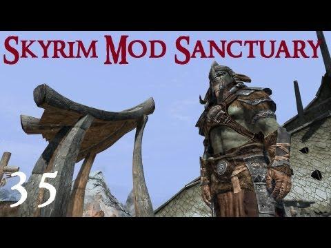 Skyrim Mod Sanctuary 35 : Immersive Armors