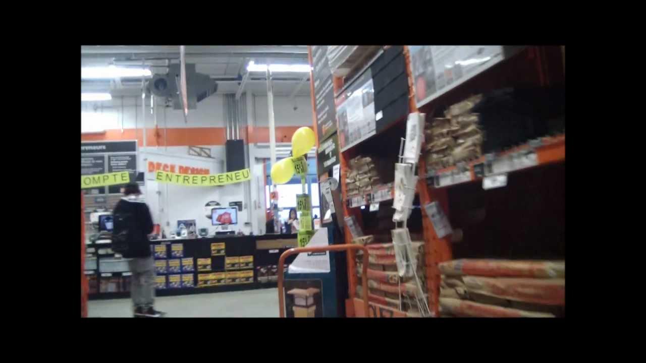 Skateboarding in Walmart,